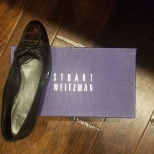 Stuart Weitzman leather flats